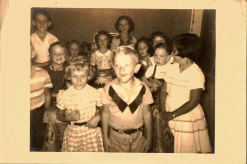 Old Vintage Photograph Large Group of Adorable Little Children in Collectibles, Photographic Images, Contemporary (1940-Now) | eBay
