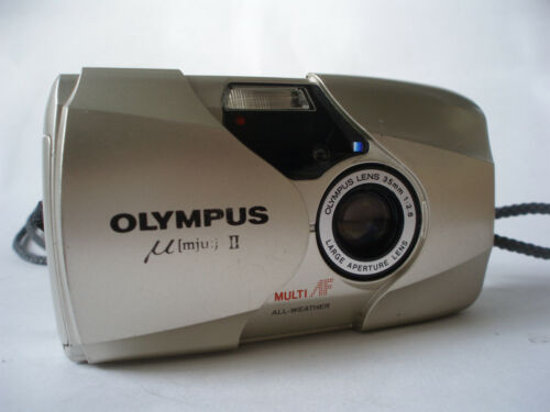 Olympus MJU II 2 35mm Film Camera Epic Stylus II f2.8 Fast Lens in Cameras & Photo, Film Photography, Film Cameras | eBay