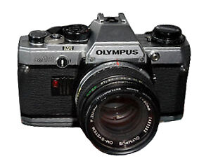 Olympus OM10 35mm SLR Film Camera with 5...