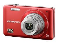 Olympus VG-120 14,0 MP Digitalkamera - R...