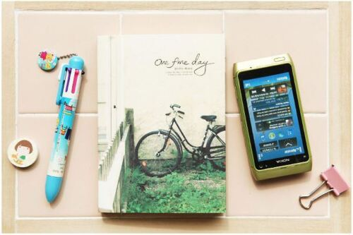 """One Fine Day"" Photo Diary Book Notebook Gift Party Book Memo in Books, Accessories, Blank Diaries & Journals 