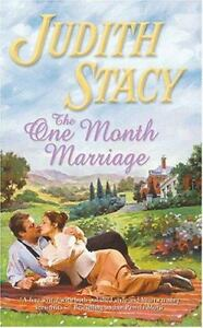 The One Month Marriage 726 by Judith Sta...