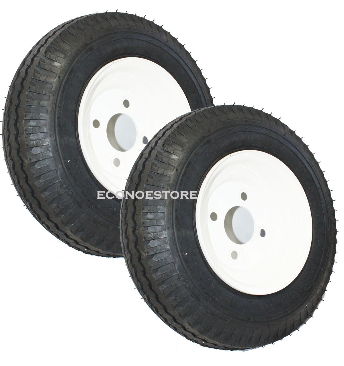 one pair 15 trailer tire wheels 8 3 4 rim. Black Bedroom Furniture Sets. Home Design Ideas