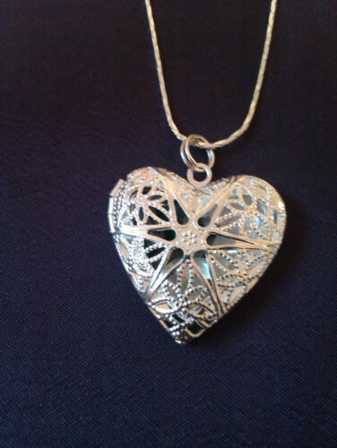 Opening Heart Locket Healing Crystal Pendant/Necklace - choose a type of healing in Everything Else, Metaphysical, Crystal Healing | eBay
