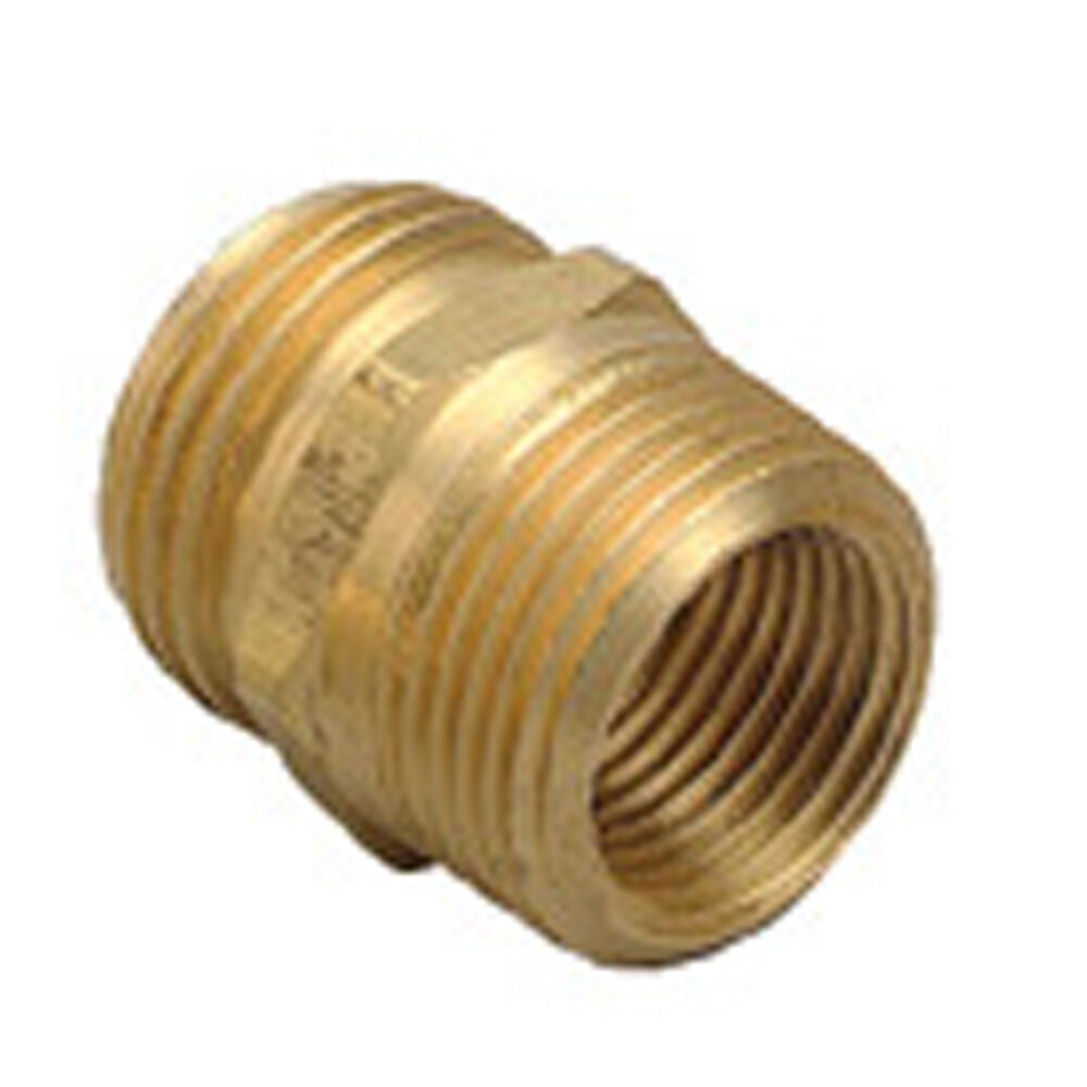 Orbit Brass Hose to Hose Connector Fitting Water Garden Hose Pipe Adapters