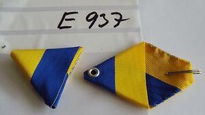 Ordensband-Osterreich-Dreiecksband-gelb-blau-40mm-KuK-usw-neu-e937