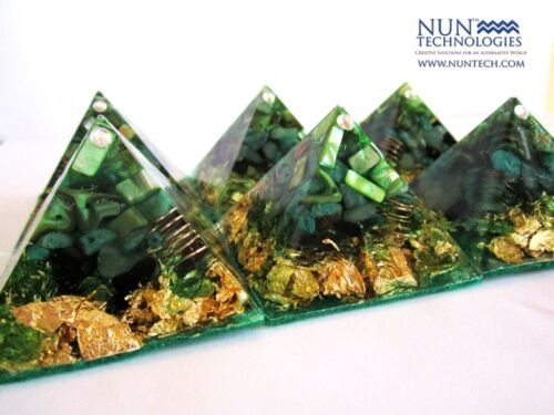 Orgone Crystal Healing Pyramid for Attracting Wealth, Abundance and Prosperity! in Everything Else, Metaphysical, Crystal Healing | eBay