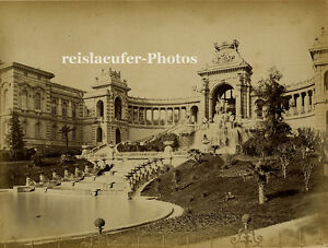 Orig-Albumin-Photo-Marseille-Palais-Longchamp-ca-1880