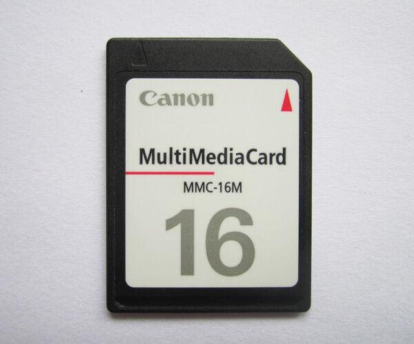 how to clear a canon memory card