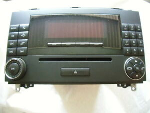 original mercedes benz autoradio audio 20 cd radio. Black Bedroom Furniture Sets. Home Design Ideas