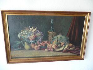 Original-Olgemaelde-von-Frederik-Ellgaard-1896-97x61-cm-in-Keilrahmen-signiert