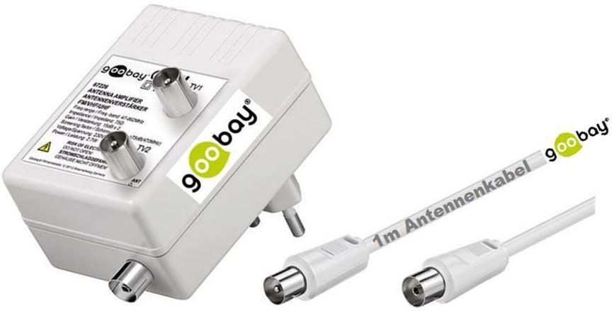 Goobay tv cable coaxial amplificador 47 862 mhz - Amplificador de antena ...