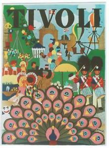Original vintage poster TIVOLI AMUSEMENTPARK COPENHAGEN  eBay