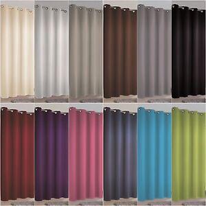 senschal mia 140x245 verdunkelungsstoff sonnenschutz blickdicht gardine vorhang ebay. Black Bedroom Furniture Sets. Home Design Ideas