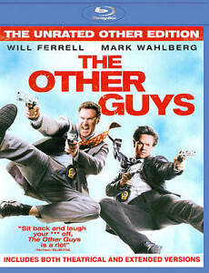 The Other Guys (Blu-ray Disc, 2010, Unra...