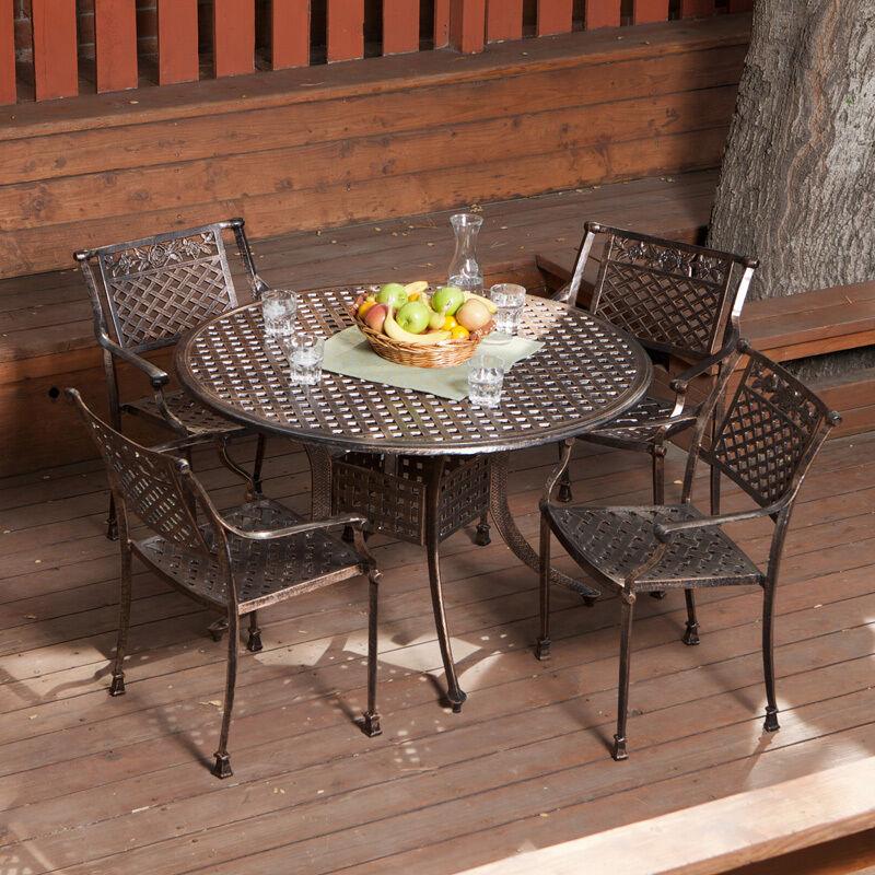 Cast aluminum ebay cast aluminum patio furniture for Caste furniture
