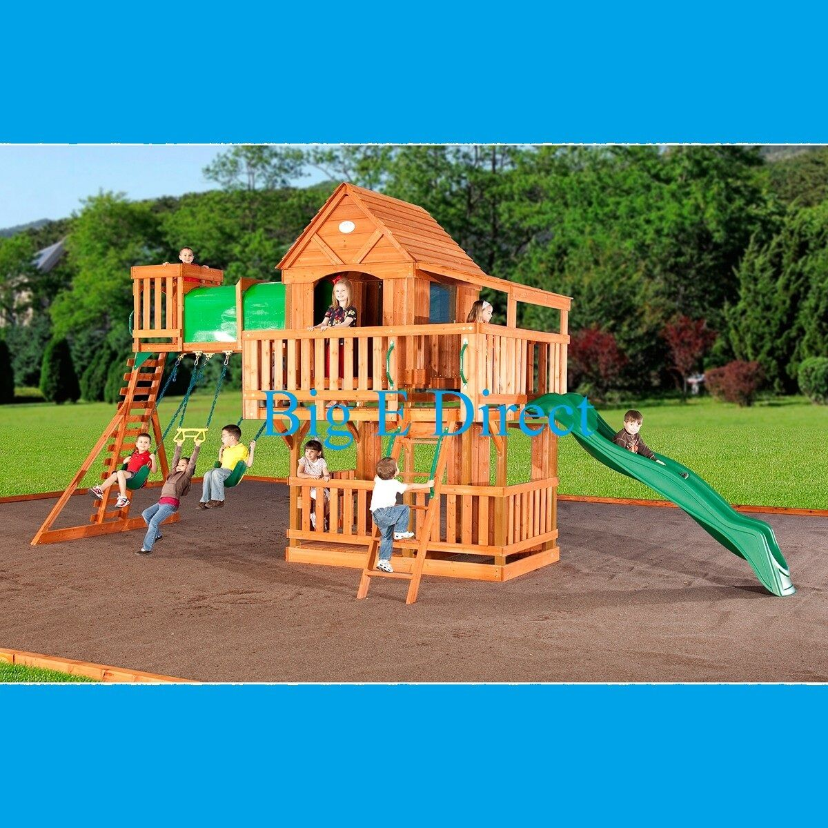 Fun easy woodworking projects, Outdoor Wooden Swing Set ...