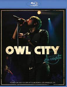 Owl City: Live From Los Angeles (Blu-ray...