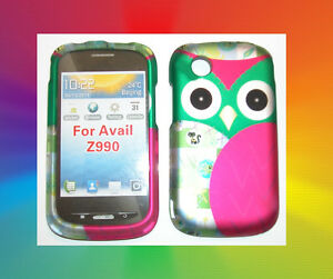 Hard Case Snap-on Phone Cover for Straight Talk ZTE Merit 990G/Avail