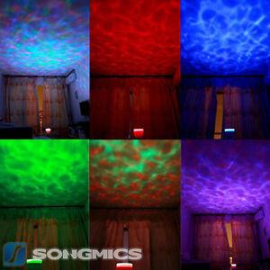 Ozean-Meer-LED-Nachtlicht-Projektor-Lautsprecher-Kinder-Einschlafhilfe-FSL005