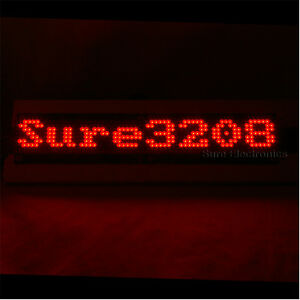 P4-32X8-3208-Red-LED-Dot-Matrix-Unit-Board-LED-Information-Display-Board