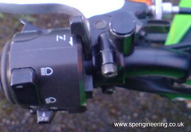 Pair of Mirror Plugs Barend Triumph Speed Triple