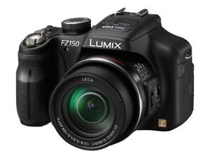 PANASONIC-LUMIX-DMC-FZ150-12-1-MP-Digitalkamera-Schwarz-Deutsche-Ware-NEU-WOW