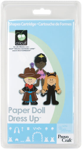 PAPER DOLL DRESS UP Cricut Cartridge Brand New Sealed! in Crafts, Scrapbooking & Paper Crafts, Scrapbooking Tools | eBay