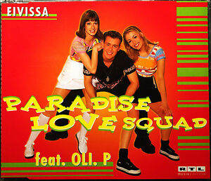 PARADISE LOVE SQUAD FEAT. OLI P. &quot;Eivissa&quot; 5-Track-Maxi-CD 1998 - <span itemprop=availableAtOrFrom>Dannenberg, Deutschland</span> - PARADISE LOVE SQUAD FEAT. OLI P. &quot;Eivissa&quot; 5-Track-Maxi-CD 1998 - Dannenberg, Deutschland