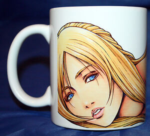 PARASITE EVE  - Coffee Mug - Aya Brea - Squaresoft - Final Fantasy