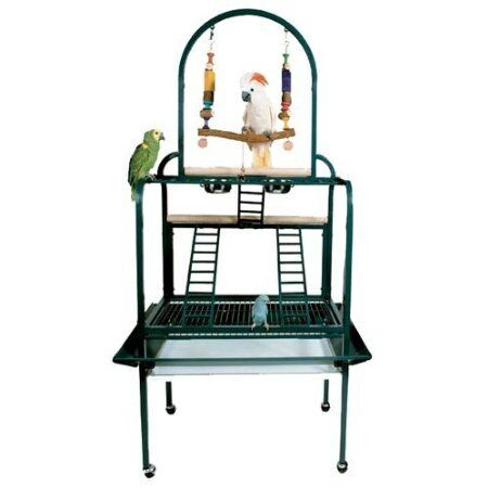 PARROT BIRD PLAY GYM STAND PP502 toy cage cages toys conure amazon african grey in Pet Supplies, Bird Supplies, Cages | eBay