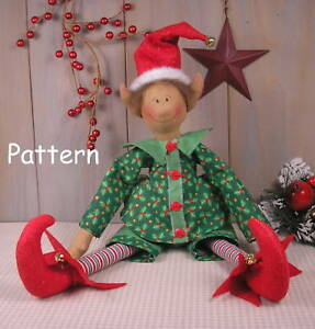 Christmas Elf Doll - About