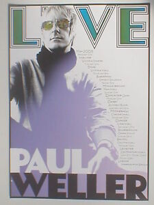 PAUL-WELLER-may-2008-limited-UK-TOUR-poster-23-5-x-16-5-official-ex-tour-JAM