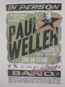 PAUL-WELLER-nov-2008-limited-UK-TOUR-poster-23-5-x-15-5-official-ex-tour-JAM