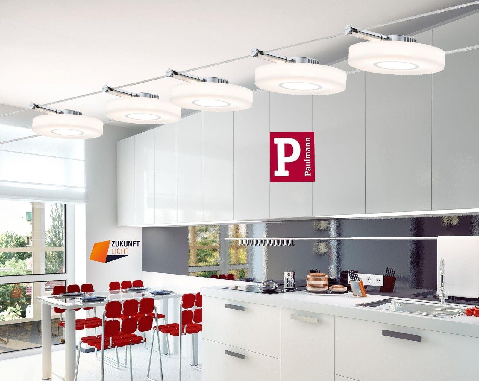 PAULMANN LED SEILSYSTEM DiscLED I 5x4W 12V NEUSTE LED TECHNIK ART ...