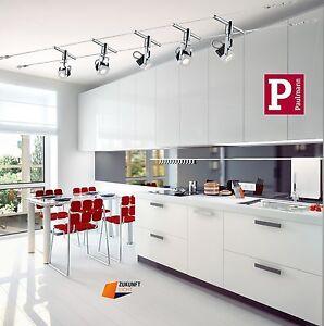 paulmann led seilsystem mezzo 5x5watt 230v 12v mit neuster led technik new ebay. Black Bedroom Furniture Sets. Home Design Ideas