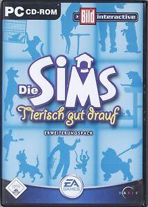 PC CD - ROM Die Sims Tierisch gut drauf Erweiterungspack 2 CD 's - Berlin, Deutschland - PC CD - ROM Die Sims Tierisch gut drauf Erweiterungspack 2 CD 's - Berlin, Deutschland