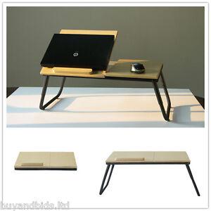 pc notebook computer laptop bett tisch klappbar schreibtisch h henverstellbar ebay. Black Bedroom Furniture Sets. Home Design Ideas