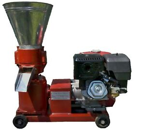 PELLET-MILL-13HP-GAS-ENGINE-ELECTRIC-START-WOOD-BIOMASS-PELLET-PRESS-FREE-HEAT