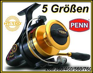 PENN-Slammer-260-360-460-560-760-Vollmetall-Salzwasserrolle-Zalt-Reel-NEW-OVP