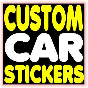 custom car stickers vinyl graphics decals car bumper stickers