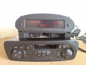 peugeot 206 blaupunkt t1 niv2 car stereo radio cassette player with code ebay. Black Bedroom Furniture Sets. Home Design Ideas