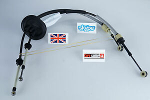 Peugeot 307 2 0 Hdi Gear Cables Linkage Cable Be4t Gearbox