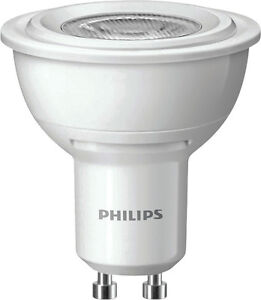 philips high output led 4 watt gu10 spot strahler warmweiss profiware 230 volt ebay. Black Bedroom Furniture Sets. Home Design Ideas