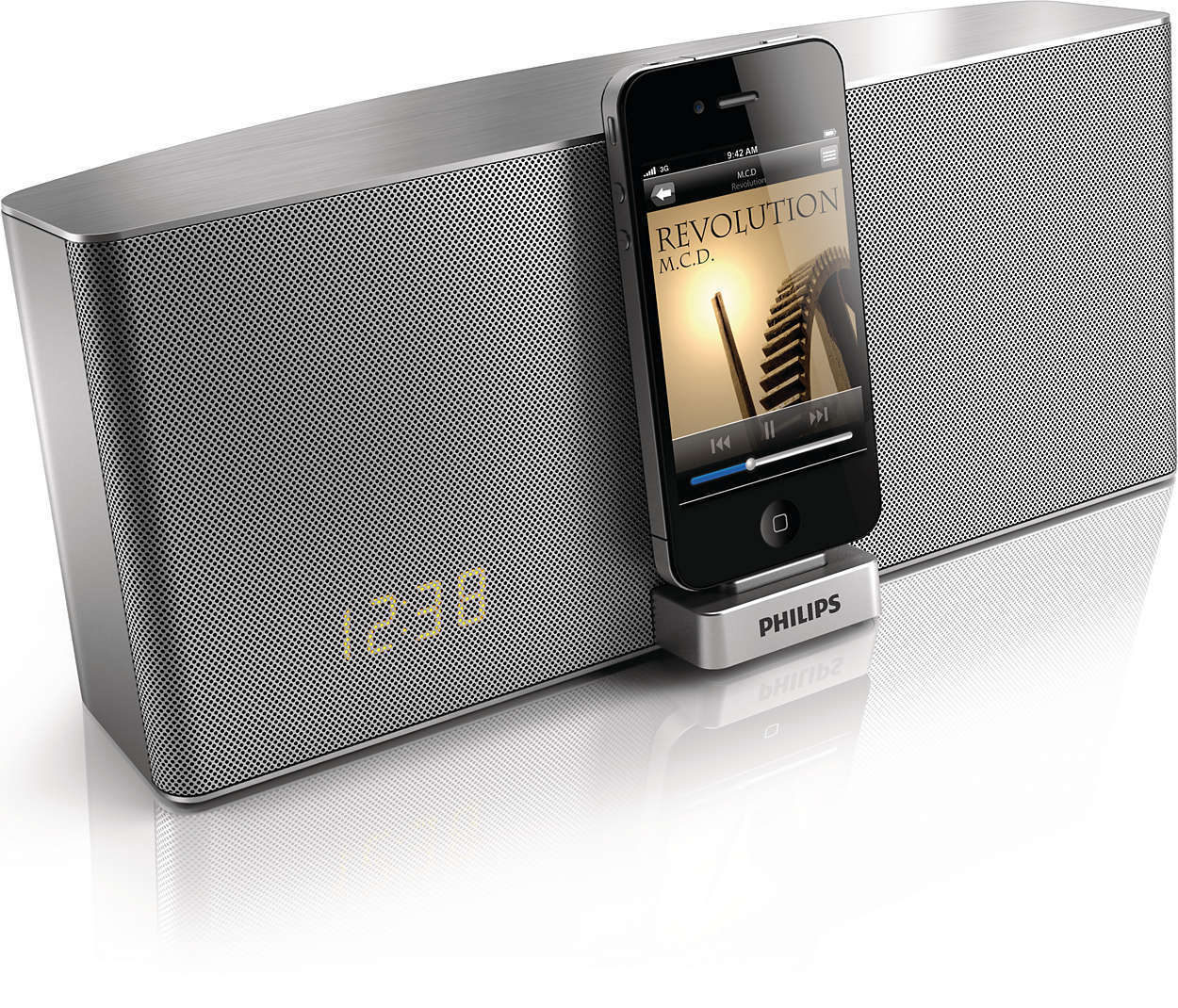 philips tci 360 dockingstation f r iphone ipod ipad 30 pol. Black Bedroom Furniture Sets. Home Design Ideas