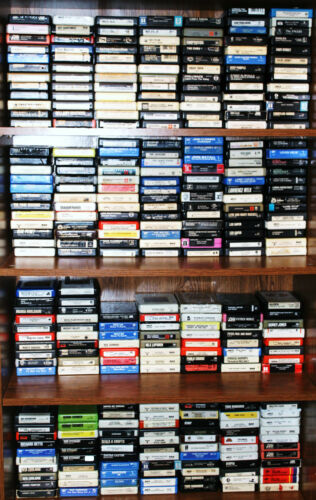 PICK ONE 8 TRACK TAPE FROM THIS LOT @ $1.99 EACH - PLEASE EMAIL YOUR SELECTIONS in Music, Other Formats | eBay