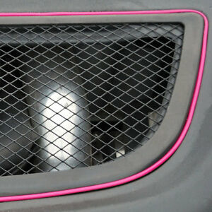 pink 5m flexible trim for car interior exterior moulding strip decorative line ebay. Black Bedroom Furniture Sets. Home Design Ideas