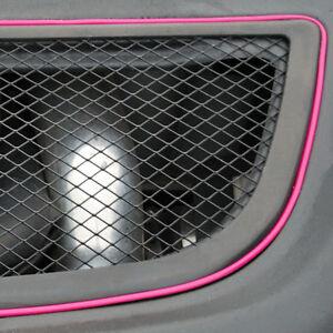 pink 5m flexible trim for car interior exterior moulding strip decorative line ebay. Black Bedroom Furniture Sets. Home Design Ideas