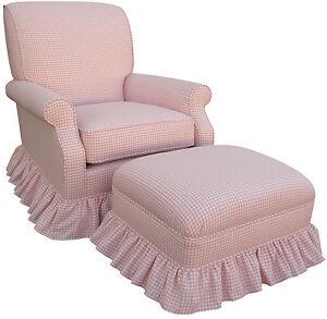 ... Upholstered Rocker Glider Chair Nursing Baby Nursery New on PopScreen