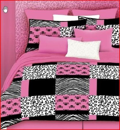 Full Size Bed in A Bag Animal Print Comforter Bed Set New